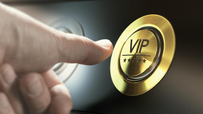 VIP behandeling